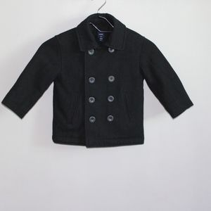 Baby Gap Black Coat Size 3